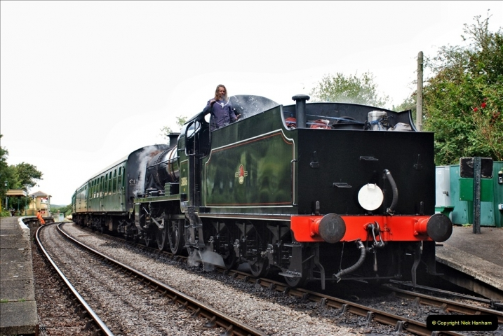 2021-09-17 SR Track Inspection Walk Norden to Swanage five & a half miles. (145) 145