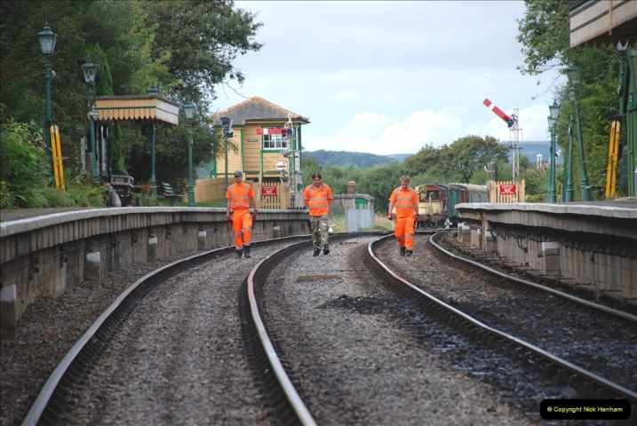2021-09-17 SR Track Inspection Walk Norden to Swanage five & a half miles. (150) 150