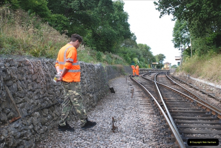 2021-09-17 SR Track Inspection Walk Norden to Swanage five & a half miles. (151) 151