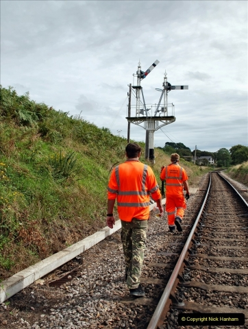 2021-09-17 SR Track Inspection Walk Norden to Swanage five & a half miles. (152) 152