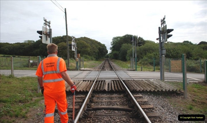 2021-09-17 SR Track Inspection Walk Norden to Swanage five & a half miles. (156) 156