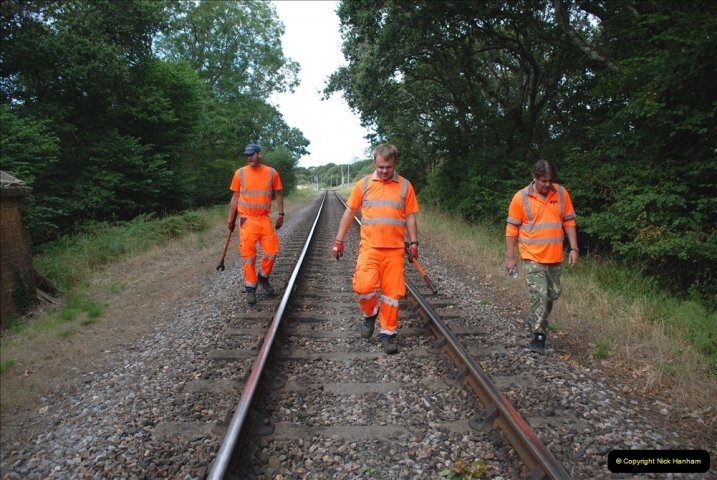 2021-09-17 SR Track Inspection Walk Norden to Swanage five & a half miles. (161) 161