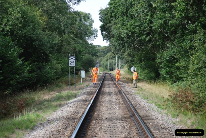 2021-09-17 SR Track Inspection Walk Norden to Swanage five & a half miles. (162) 162