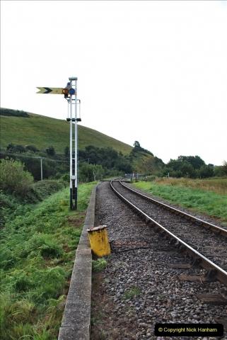 2021-09-17 SR Track Inspection Walk Norden to Swanage five & a half miles. (17) Flange greaser drum.  017