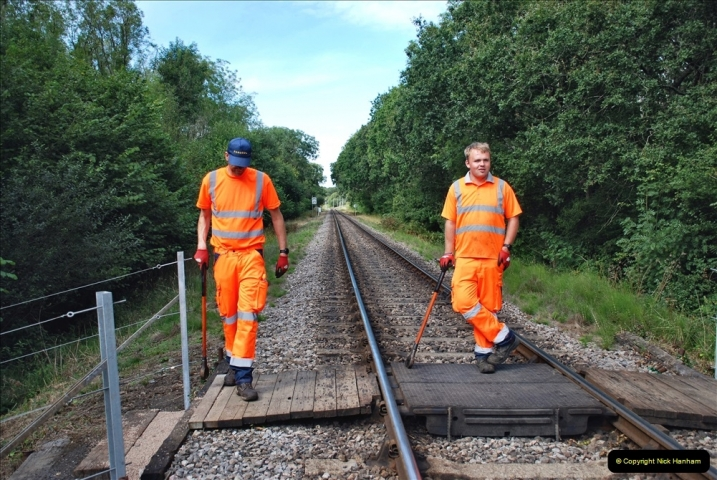 2021-09-17 SR Track Inspection Walk Norden to Swanage five & a half miles. (172) 172