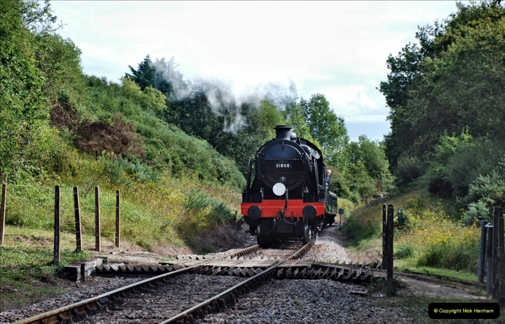2021-09-17 SR Track Inspection Walk Norden to Swanage five & a half miles. (175) 175
