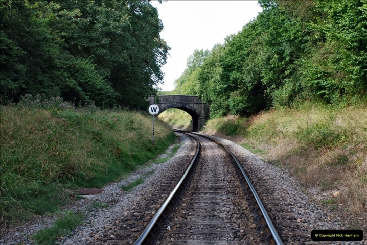 2021-09-17 SR Track Inspection Walk Norden to Swanage five & a half miles. (184) 184