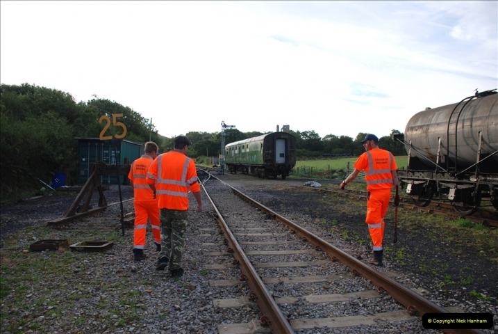 2021-09-17 SR Track Inspection Walk Norden to Swanage five & a half miles. (2) 002