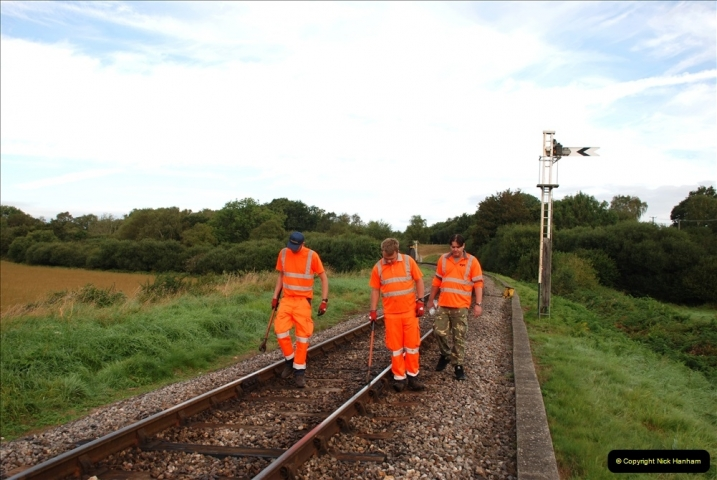 2021-09-17 SR Track Inspection Walk Norden to Swanage five & a half miles. (20) 020