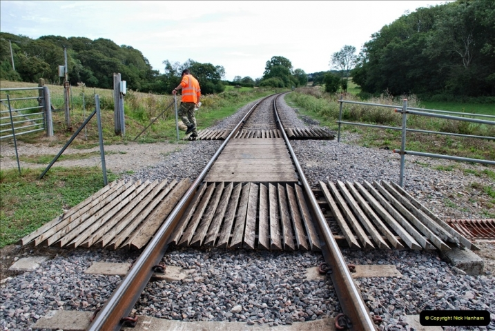 2021-09-17 SR Track Inspection Walk Norden to Swanage five & a half miles. (201) 201