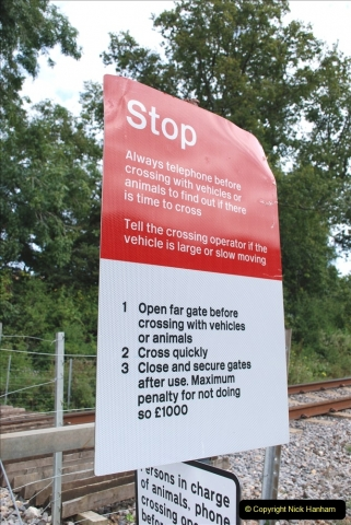2021-09-17 SR Track Inspection Walk Norden to Swanage five & a half miles. (207) 207