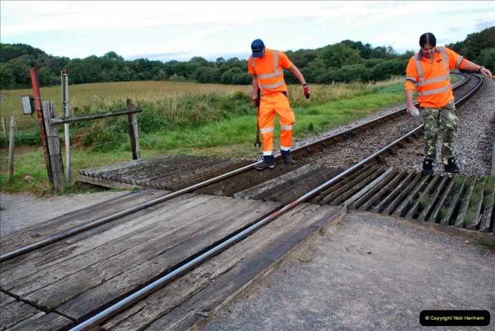 2021-09-17 SR Track Inspection Walk Norden to Swanage five & a half miles. (21) 021