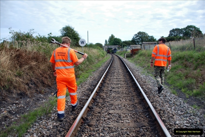 2021-09-17 SR Track Inspection Walk Norden to Swanage five & a half miles. (216) 216