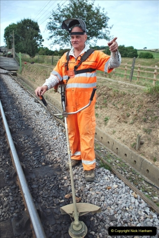 2021-09-17 SR Track Inspection Walk Norden to Swanage five & a half miles. (222) 222