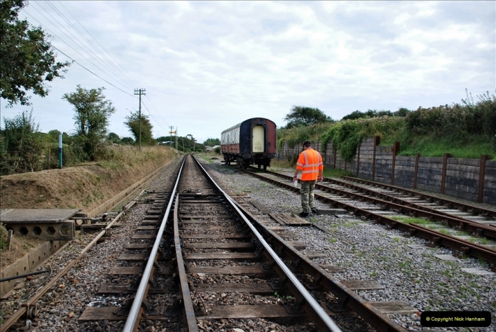 2021-09-17 SR Track Inspection Walk Norden to Swanage five & a half miles. (223) 223