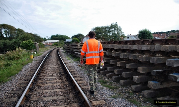 2021-09-17 SR Track Inspection Walk Norden to Swanage five & a half miles. (225) 225