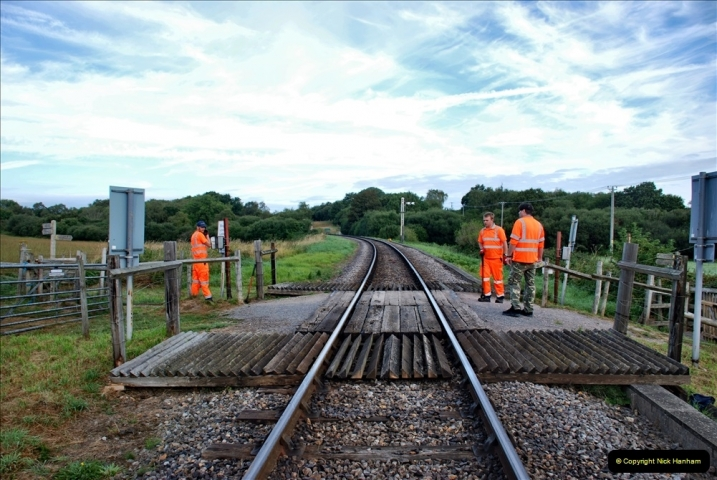 2021-09-17 SR Track Inspection Walk Norden to Swanage five & a half miles. (23) 023