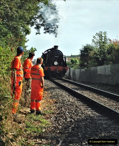 2021-09-17 SR Track Inspection Walk Norden to Swanage five & a half miles. (230) 230