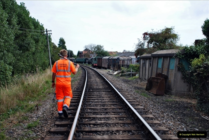 2021-09-17 SR Track Inspection Walk Norden to Swanage five & a half miles. (235) 235