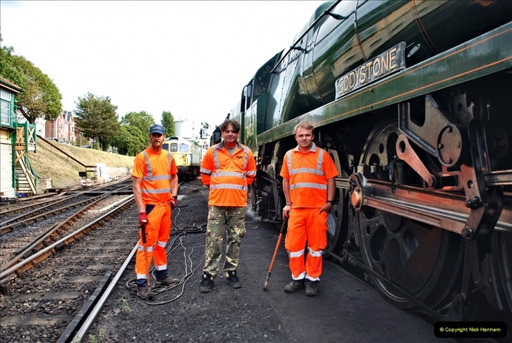 2021-09-17 SR Track Inspection Walk Norden to Swanage five & a half miles. (241) 241
