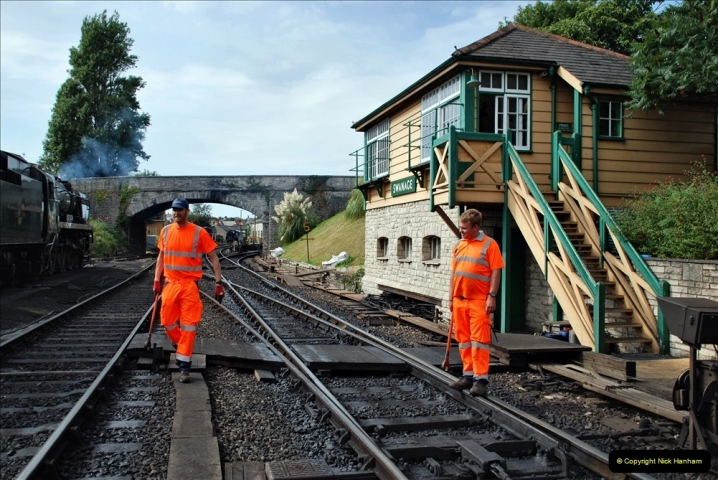 2021-09-17 SR Track Inspection Walk Norden to Swanage five & a half miles. (242) 242
