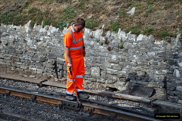 2021-09-17 SR Track Inspection Walk Norden to Swanage five & a half miles. (243) 243