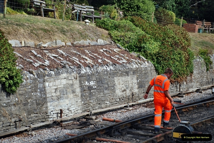 2021-09-17 SR Track Inspection Walk Norden to Swanage five & a half miles. (244) 244