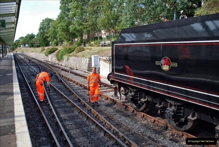 2021-09-17 SR Track Inspection Walk Norden to Swanage five & a half miles. (245) 245