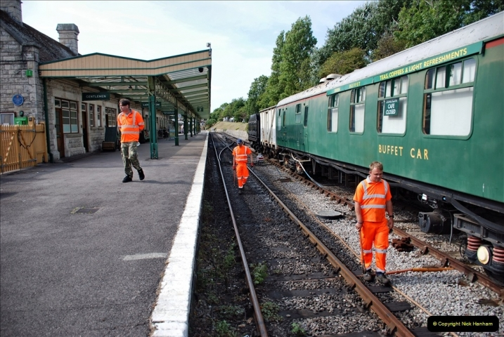 2021-09-17 SR Track Inspection Walk Norden to Swanage five & a half miles. (246) 246