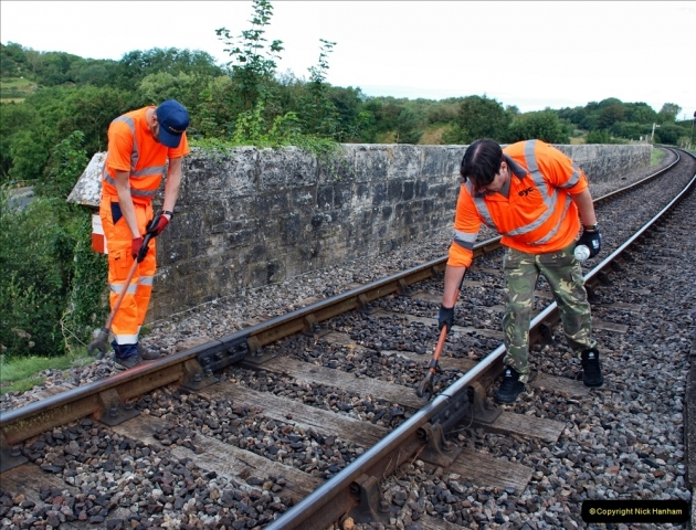 2021-09-17 SR Track Inspection Walk Norden to Swanage five & a half miles. (37) 037