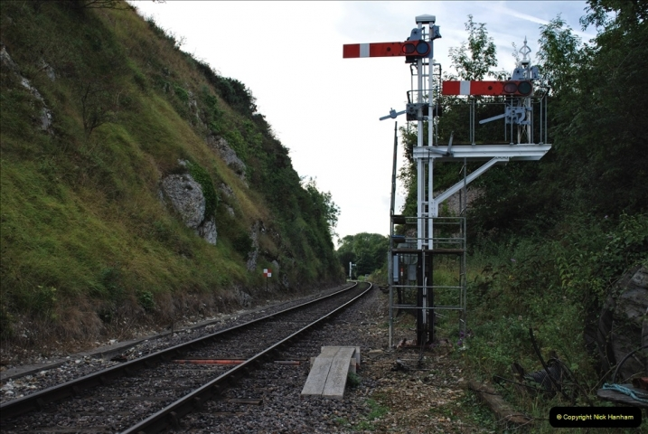 2021-09-17 SR Track Inspection Walk Norden to Swanage five & a half miles. (39) 039