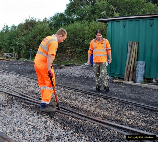 2021-09-17 SR Track Inspection Walk Norden to Swanage five & a half miles. (4) 004