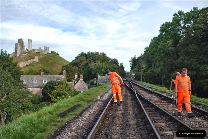 2021-09-17 SR Track Inspection Walk Norden to Swanage five & a half miles. (48) 048