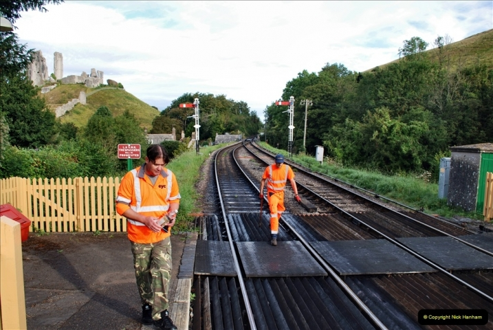 2021-09-17 SR Track Inspection Walk Norden to Swanage five & a half miles. (49) 049