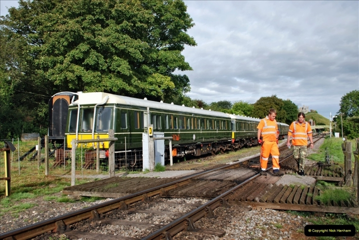 2021-09-17 SR Track Inspection Walk Norden to Swanage five & a half miles. (56) 056