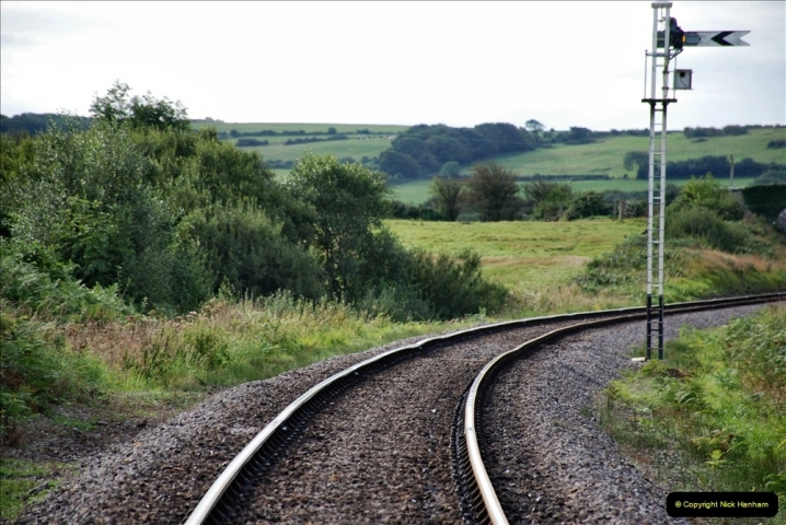 2021-09-17 SR Track Inspection Walk Norden to Swanage five & a half miles. (76) 076