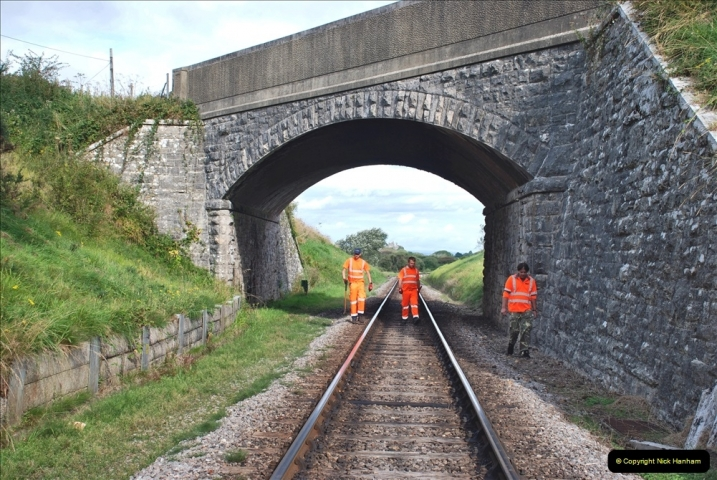 2021-09-17 SR Track Inspection Walk Norden to Swanage five & a half miles. (86) 086