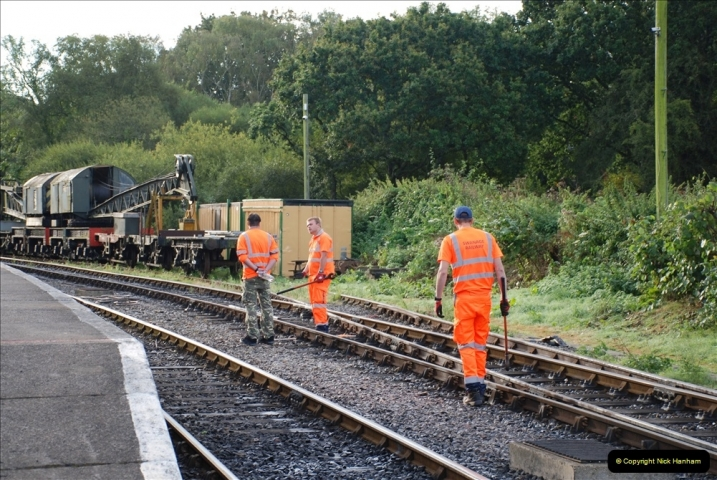 2021-09-17 SR Track Inspection Walk Norden to Swanage five & a half miles. (9) 009