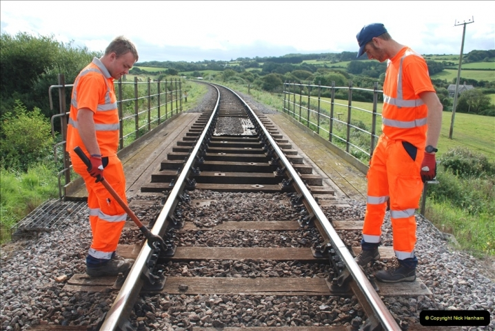 2021-09-17 SR Track Inspection Walk Norden to Swanage five & a half miles. (95) 095
