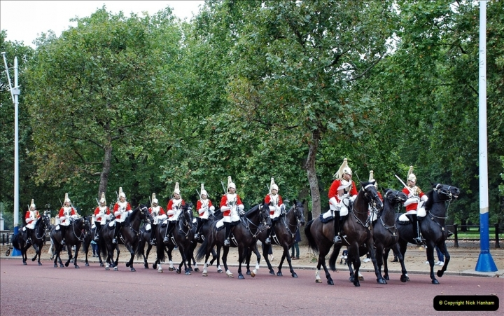 2021-09-20 Central London Break. (212) Changing the Guard at Buckingham Palace.  212