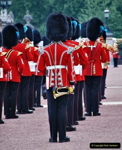 2021-09-20 Central London Break. (227) Changing the Guard at Buckingham Palace.  227