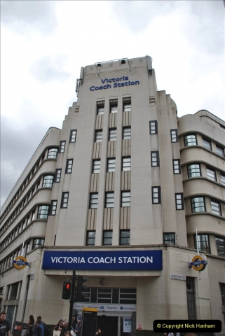2021-09-20 Central London Break. (259) Victoria Coach Station for the journey back to Poole, Dorset. 259
