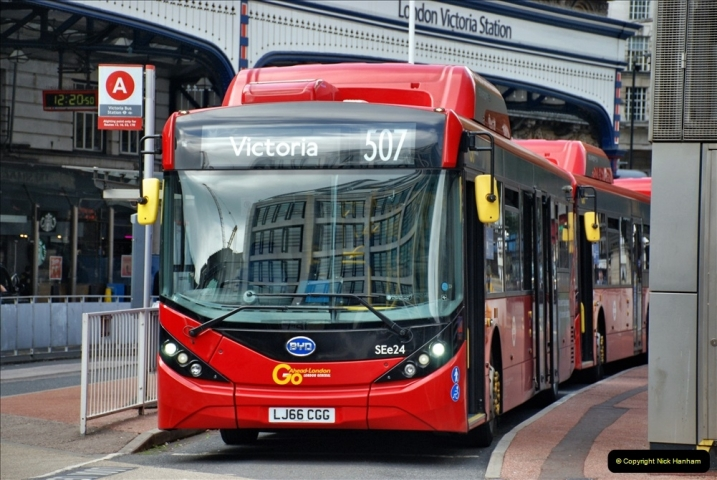 2021-09-19 & 20 Central London Buses & Coaches. (110) 110