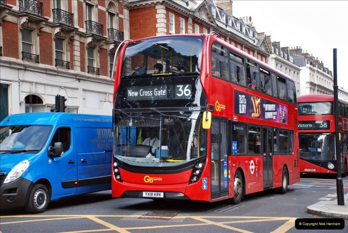 2021-09-19 & 20 Central London Buses & Coaches. (111) 111