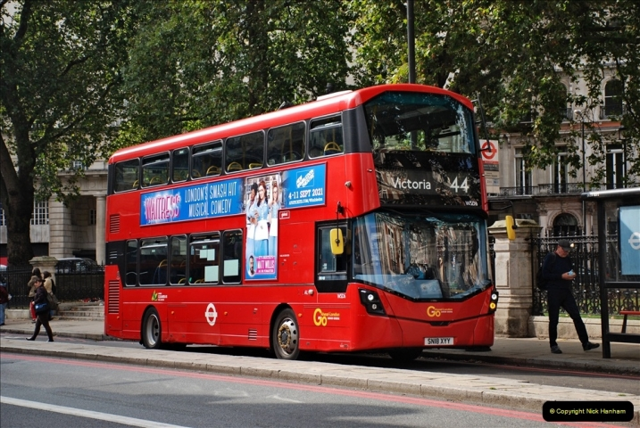 2021-09-19 & 20 Central London Buses & Coaches. (121) 121