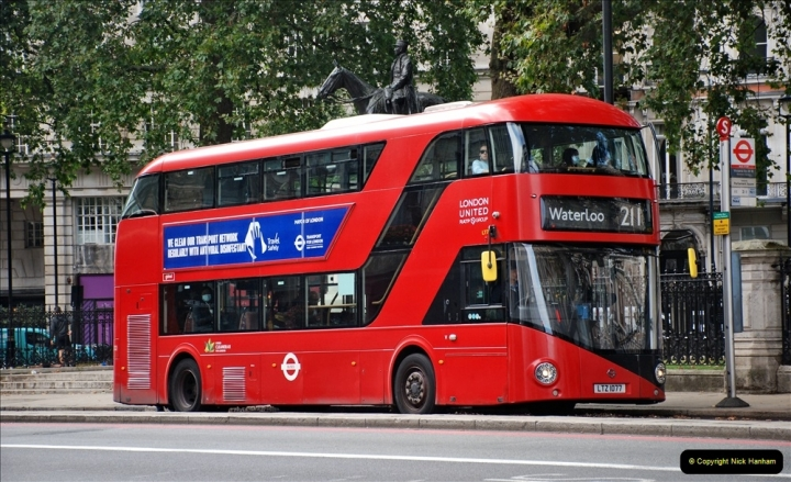 2021-09-19 & 20 Central London Buses & Coaches. (132) 132