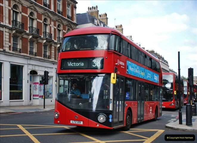 2021-09-19 & 20 Central London Buses & Coaches. (134) 134