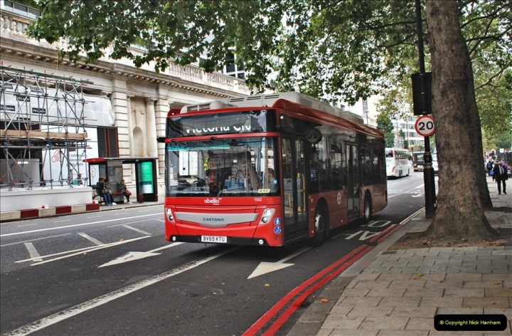 2021-09-19 & 20 Central London Buses & Coaches. (154) 154