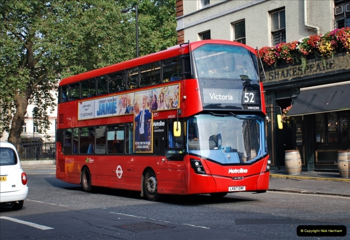 2021-09-19 & 20 Central London Buses & Coaches. (20) 020