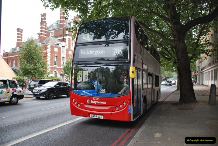 2021-09-19 & 20 Central London Buses & Coaches. (53) 053